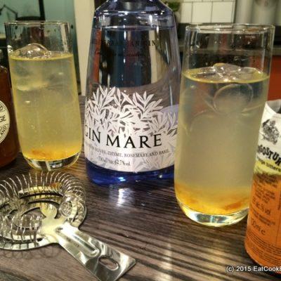Triple Orange Gin Mare Cocktail #ATasteofTravel