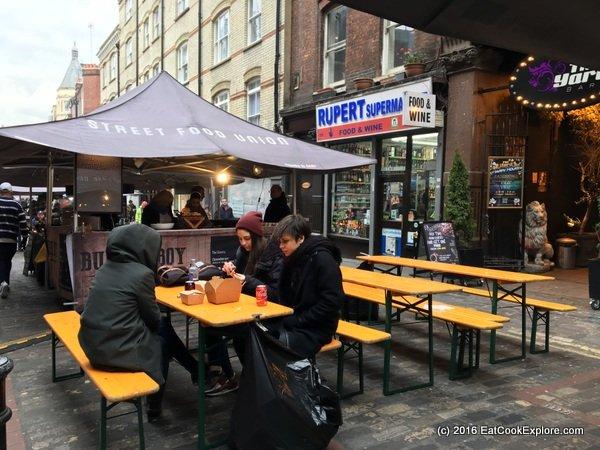 Rupert Street Soho Food Market