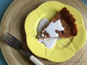 Norfolk Treacle Tart