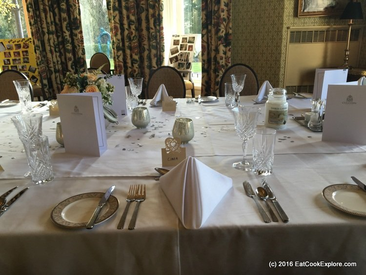 Culloden Estate and Spa Wedding Breakfast