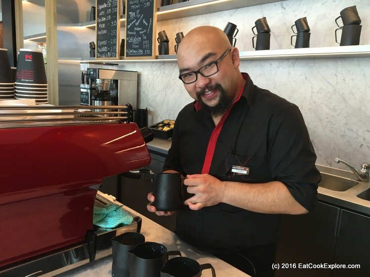 Coffee M at CitizenM hotel