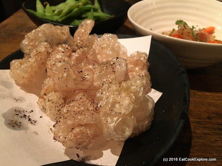 Kiri pork scratchings Buta Kawa chips