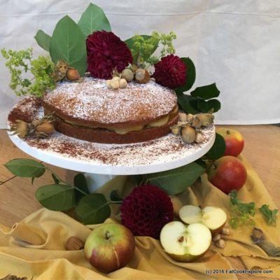 Hazelnut Torte Baked In Style and Food Styling