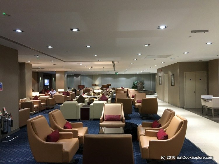 Emirates Business Class Lounge Gatwick