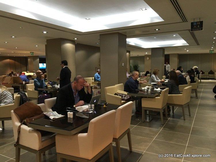 Emirates Business Class Lounge Gatwick