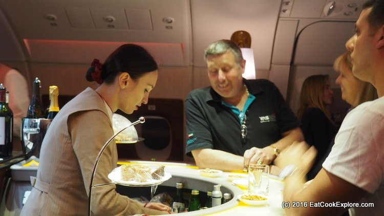 Flying Business Class on Emirates A380 London to Dubai