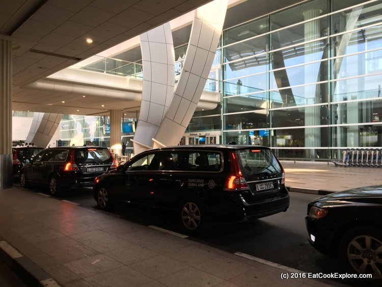 Emirates-business-class Complimentary Chauffeur Service