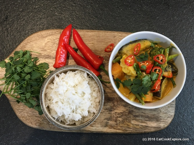 Anti Inflammatory Malaysian vegetable curry