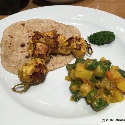 tefal tandoori chicken skewers