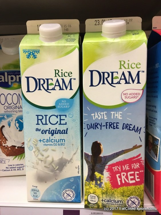 Try Dream Rice milk for free