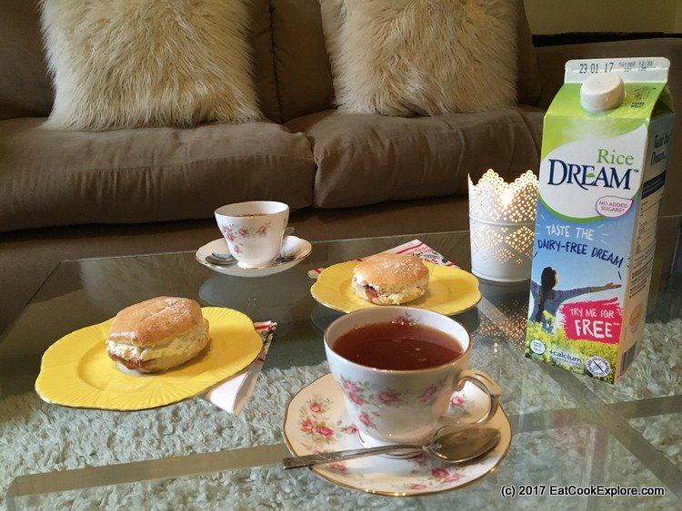 dream-rice-milk afternoon tea