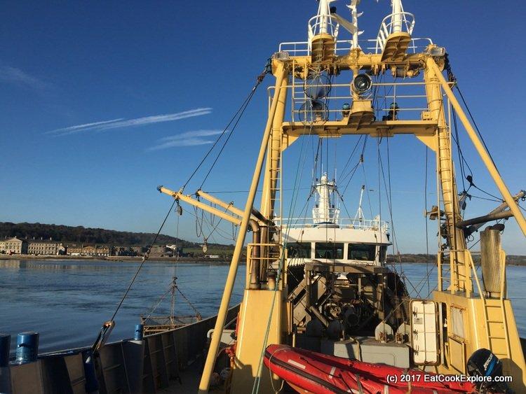 Menai Mussel Boat Mare Gratia Working Equipment