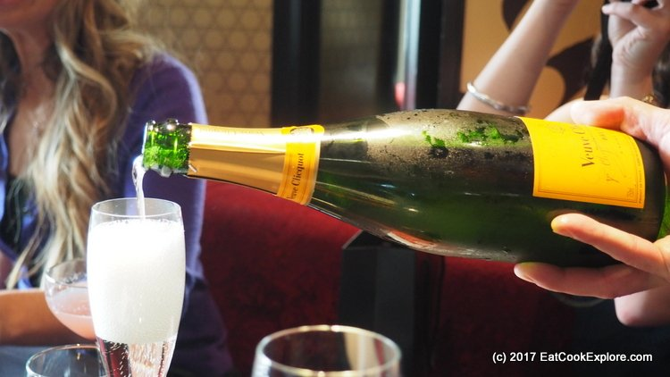 Aqua Kyoto Bottomless Champagne Weekend Brunch with Veuve Clicquot