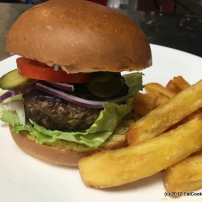 How to make the ultimate hamburger