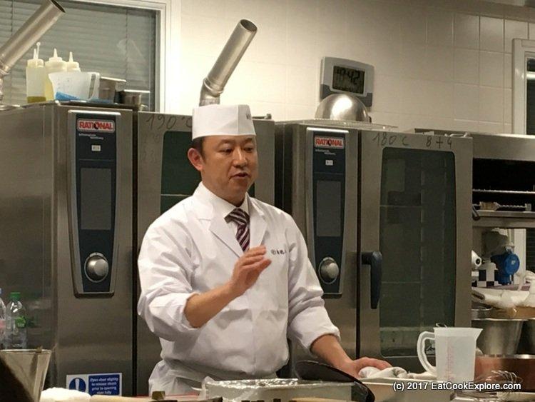 Takeshi Inoue of Baika Tei Tokyo