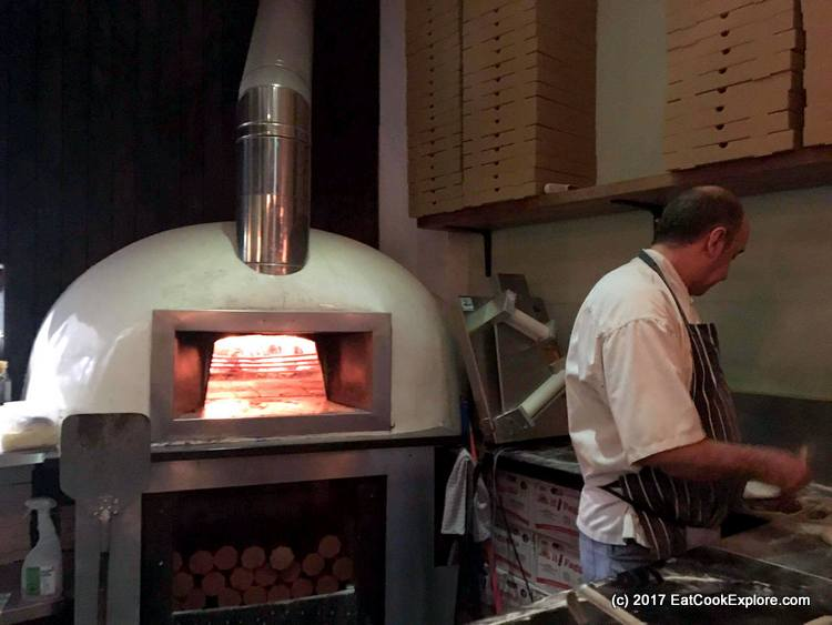 The Honest Italian Balham wood fire oven
