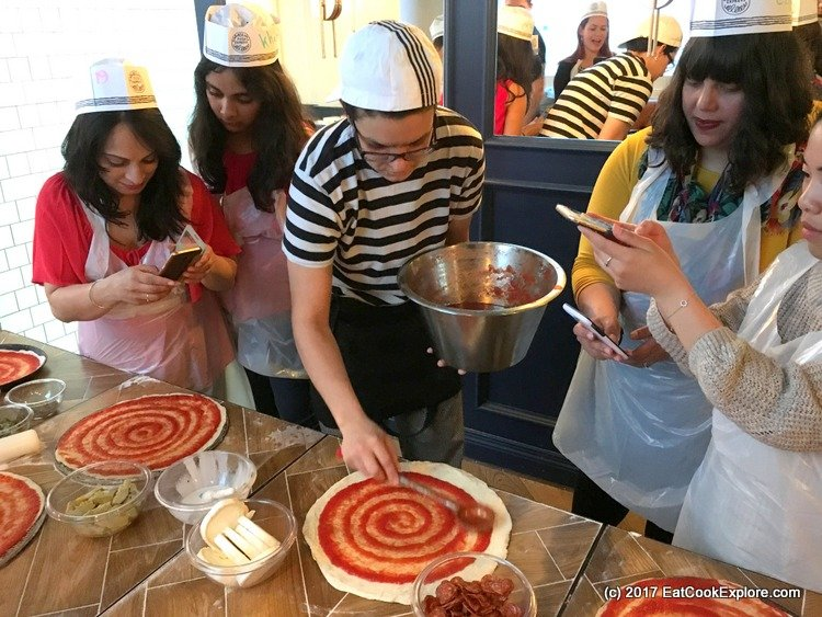 Pizza making party Pizza Express- Tomato Sauce