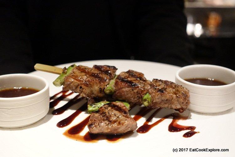 Wagyu Beef Skewers Chai Wu
