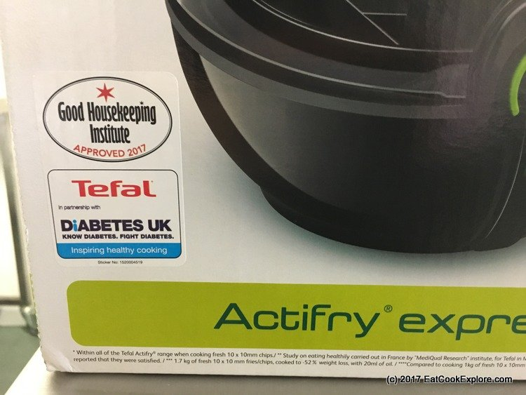 The new Tefal Actifry - Approved by Good Housekeeping