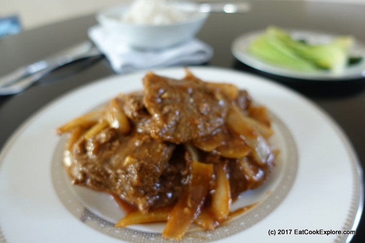 Cantonese Style Beef Steak Recipe