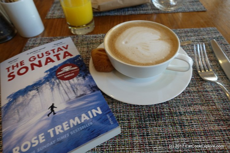 Book and Brunch Lowndes Bar and Kitchen Book and Capuccino