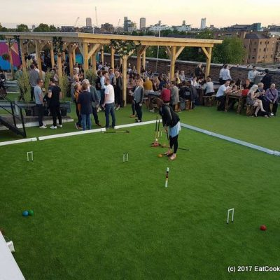 Skylight Rooftop bar – Cocktails, Street Food and Croquet