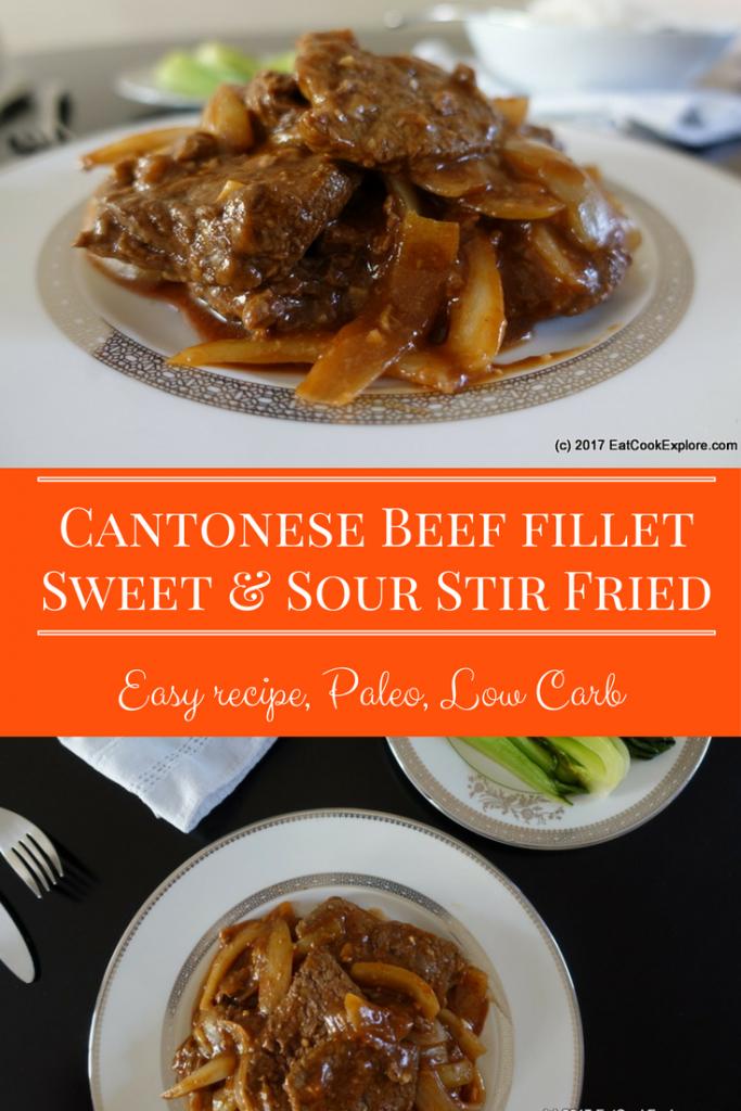 Cantonese Style Fillet Steak