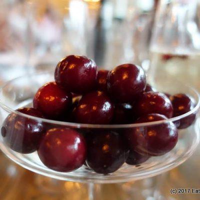 Jerte Picota Cherries Tasting Menu at Iberica
