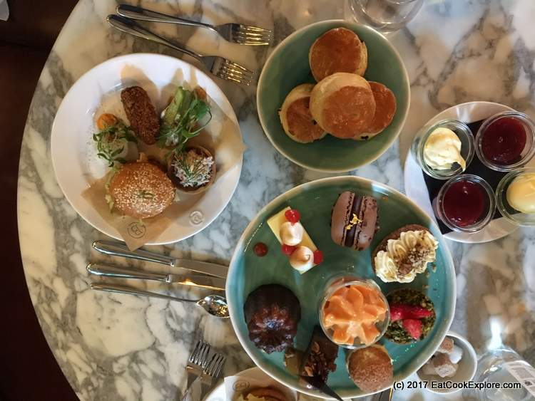 Barbecoa Afternoon Tea Picadilly