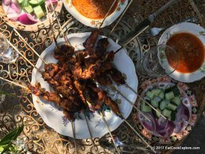 Grilled Malaysian Chicken Satay Recipe