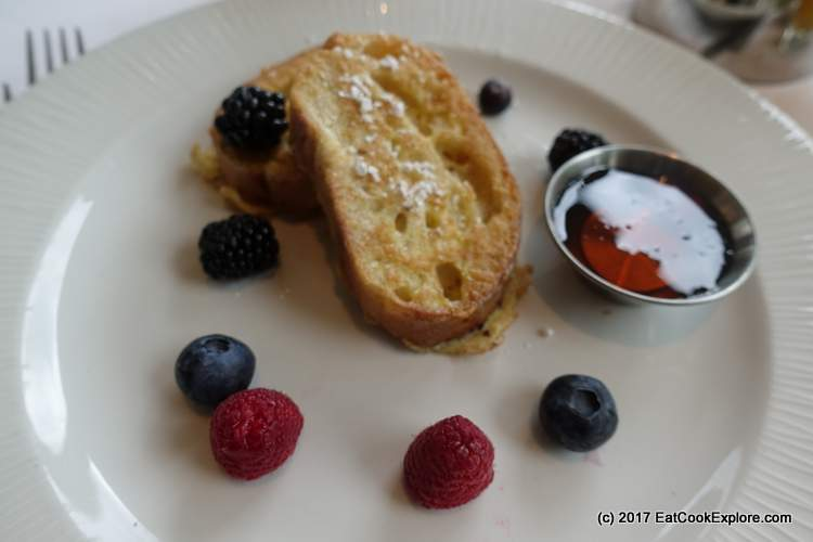 French toast with sourdough bread
