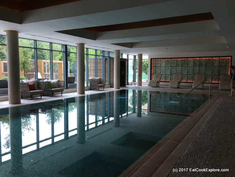 Indoor Pool Galgorm Resort and Spa