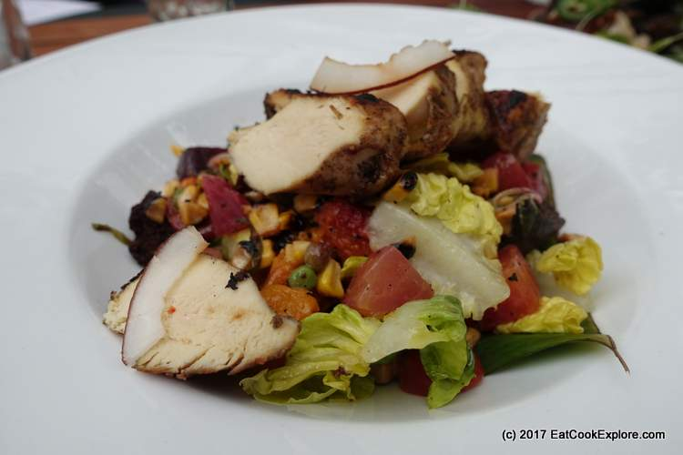 Jam Tree Rum Festival Jerk Chicken Salad