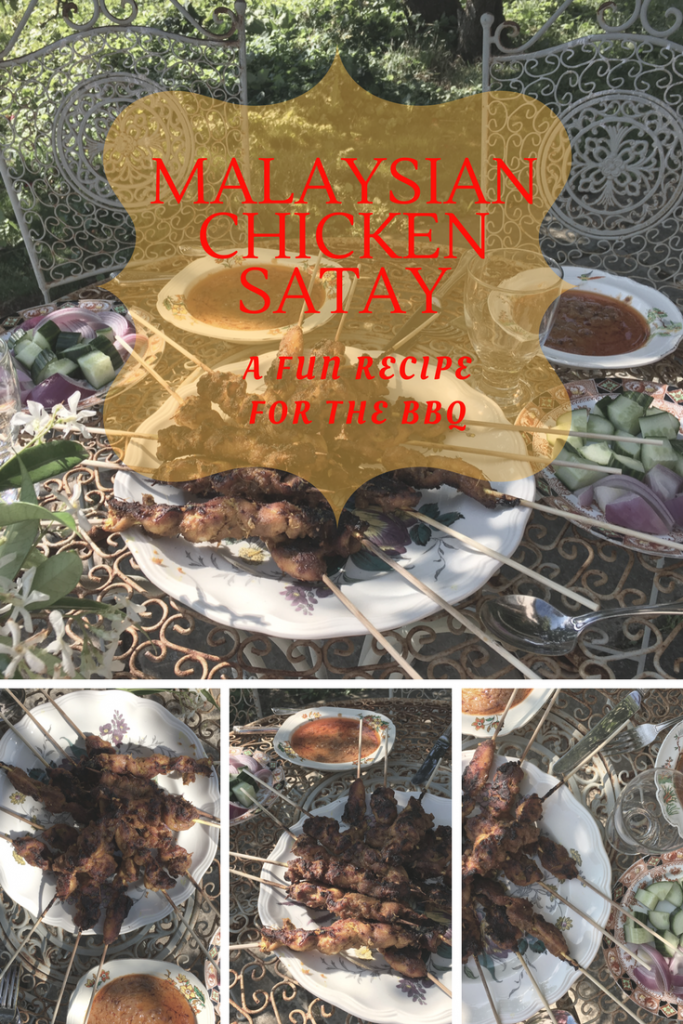 A very simple Malaysian Satay BBQ recipe