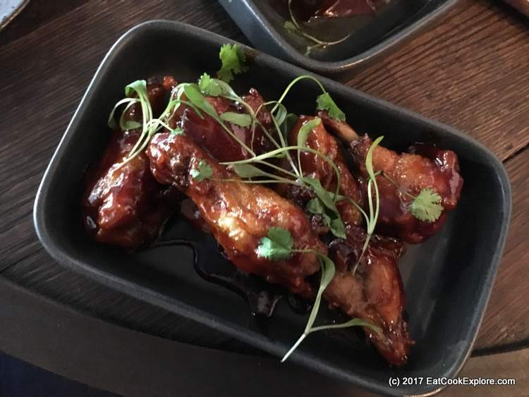 Spicy Chicken Wings at Barts Smithfield
