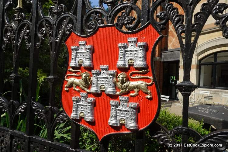 Visit Historic Winchester Winchester Coat of Arms with the 5 original gates