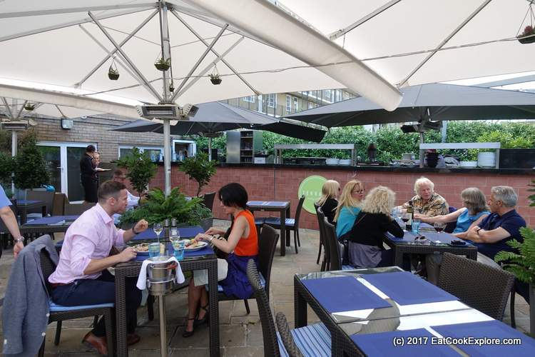 The Terrace Jumeirah Lowndes Hotel Knightsbridge