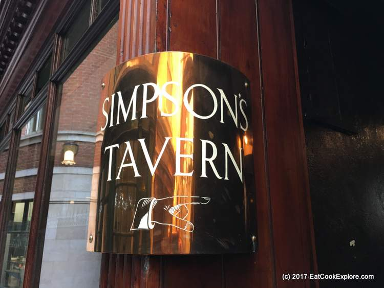 Simpsons Tavern Cornhill