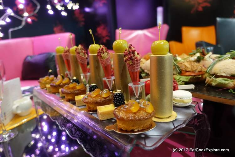 Luxury French Champagne Afternoon Tea with Eric Lanlard and P & O Cruises #AfternoonTeaWeek