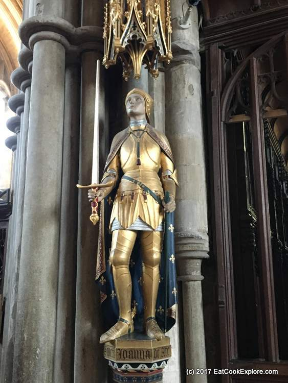 Winchester Cathedral Joan of Arc