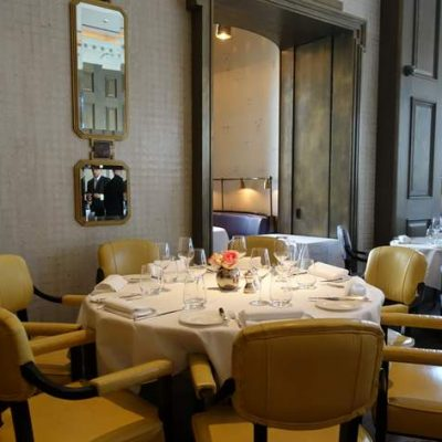 Michel Roux's Landau Restaurant at the Langham Hotel