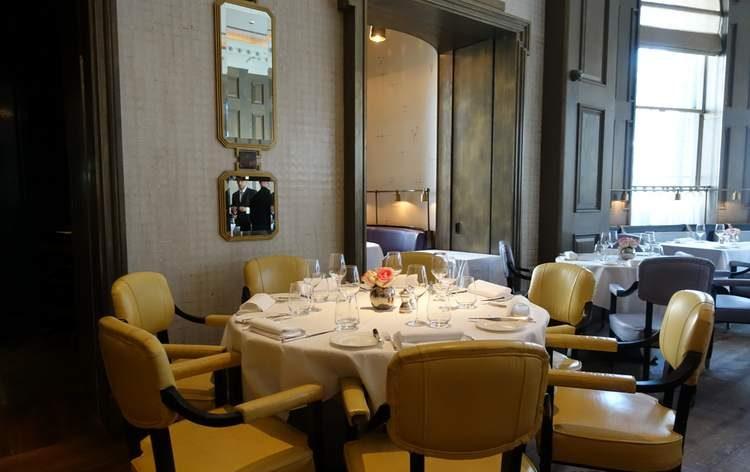 Michel Roux's Landau Restaurant at the Langham Hotel