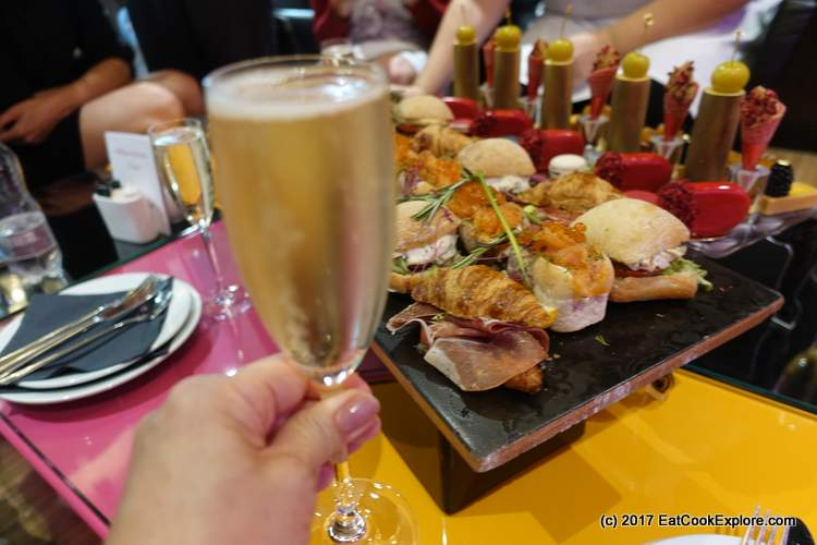 French Champagne Afternoon Tea