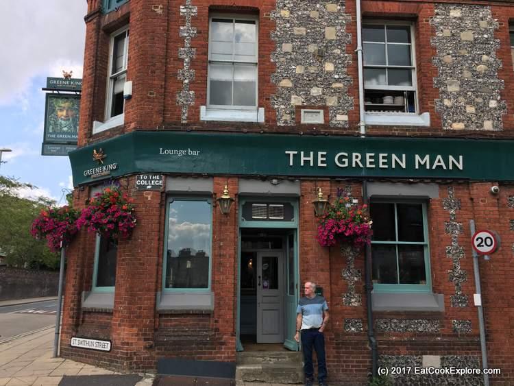 Winchester The Green Man Pub