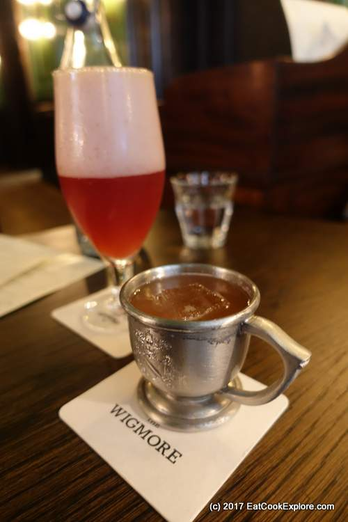 TEh Season of the Witch Hoptail and A Cup of Gin Punch at The Wigmore