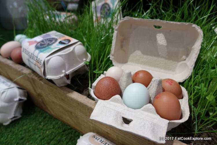 Mob fed free range eggs
