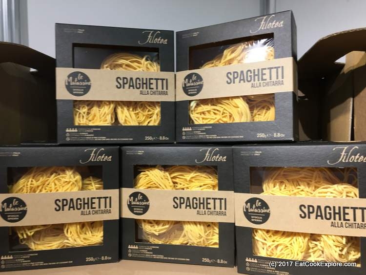 Premium egg pasta from Marche