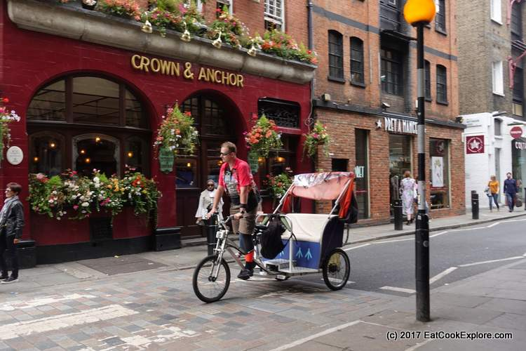 Rickshaw in Covent Garden