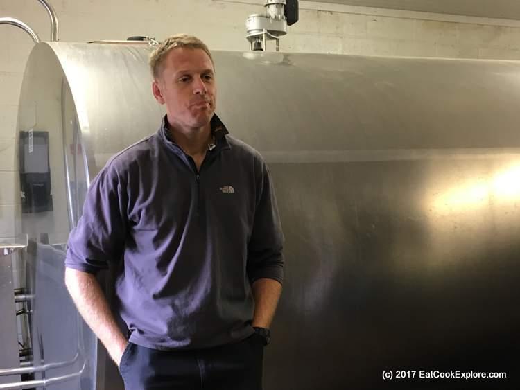 Milk collection tanks