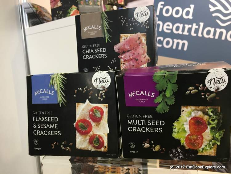 Gluten free crackers from County Armagh